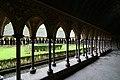 The cloister - Mont St Michel (32080556904).jpg