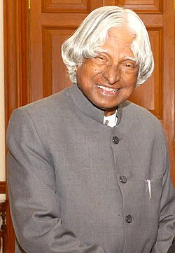 The former President, Dr. A.P.J. Abdul Kalam, in New Delhi on December 24, 2014 (cropped).jpg