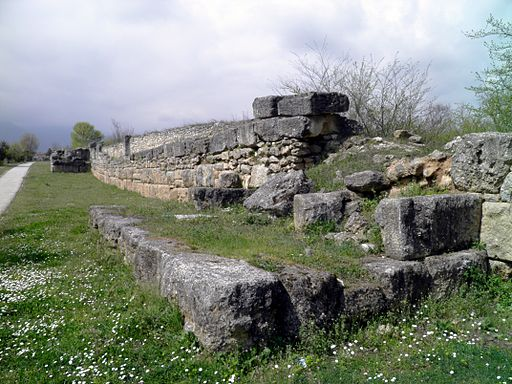 The fortification Wall, Ancient Dion (7094532439)