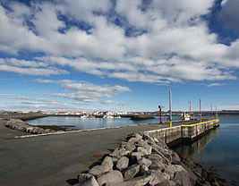The harbour at Vogar (4501375860).jpg