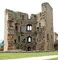 The hexagonal Great Tower, Raglan Castle - geograph.org.uk - 1531739.jpg