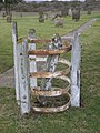 The last remnants of a kissing gate - geograph.org.uk - 1705283.jpg