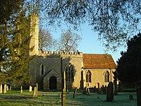 The parish church of St Nicholas, Newton Blossomville - geograph.org.uk - 683577.jpg