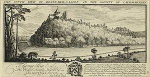 Deheubarth - Dinefwr Castle, 1740