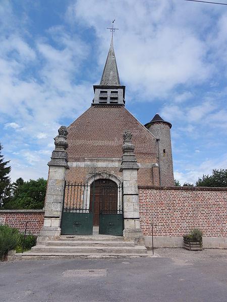 Église Saint-Côme et Saint-Damien de Thenailles
