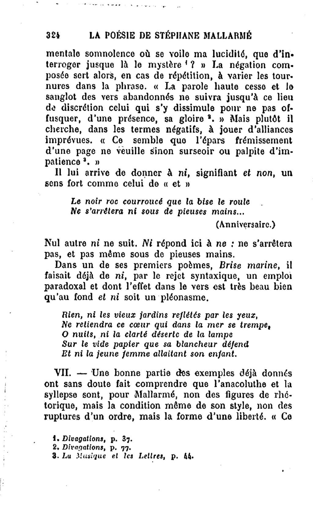 Pagethibaudet La Poésie De Stéphane Mallarmédjvu328