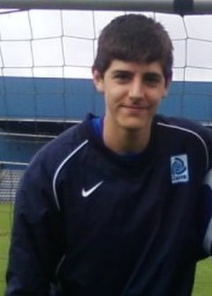 Thibaut Courtois - Courtois at Genk during the 2010–11 season