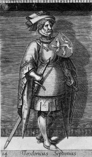 Dirk VII, Count of Holland - Image: Thierry VII de Hollande