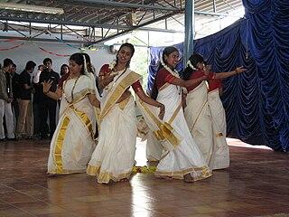 Thiruvathira womens festival in South Indian states Kerala, Tamilnadu