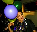 This is me during Mardi Gras Fat Tuesday 2012 at Oilcan Harrys. (6795468966).jpg