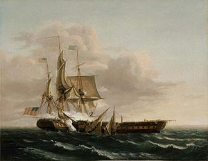"""Thomas Birch - Engagement Between the """"Constitution"""" and the """"Guerrière"""".jpg"""
