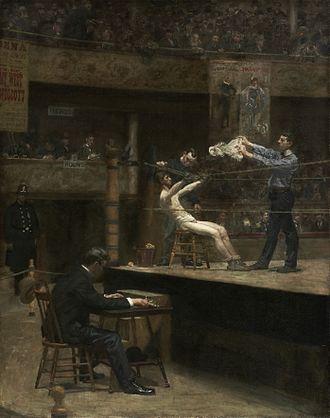 Between Rounds - Image: Thomas Eakins Between Rounds (1890s)