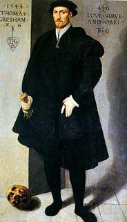 Thomas Gresham English merchant and financier (c. 1519 – 1579)