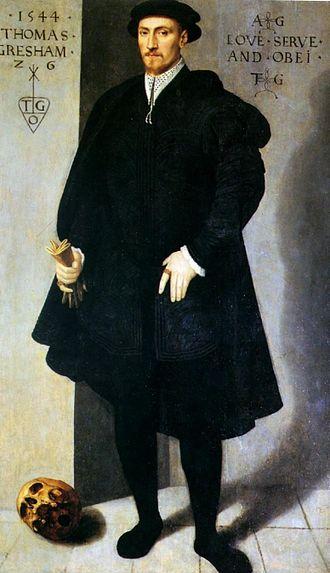 Thomas Gresham - Image: Thomas Gresham, 1544