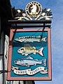 Three Fishes pub sign - geograph.org.uk - 1327584.jpg