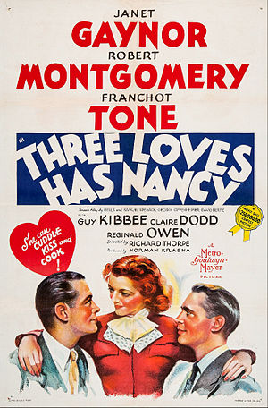 Three Loves Has Nancy - Theatrical release poster