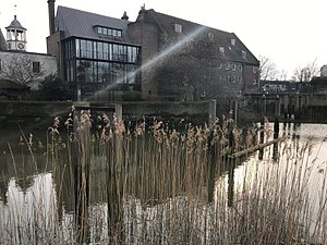 Three Mills - House Mill from across the water