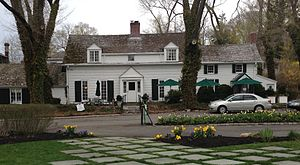 Stony Brook, New York - The Three Village Inn, housed in the c.1751 Richard Hallock home