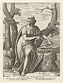 Tiburtijnse Sibille Sibylla Tibvrtina (titel op object) Sibillen (serietitel), RP-P-OB-6627.jpg