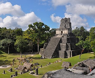 Tikal Temple II temple in Tikal