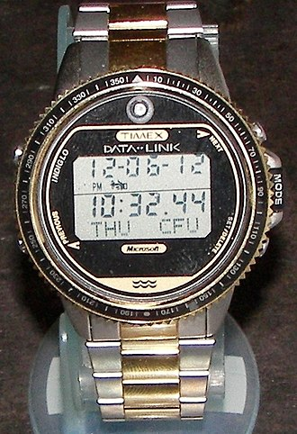 Timex Datalink - Timex Datalink 150 Model 69787 with rotating bezel