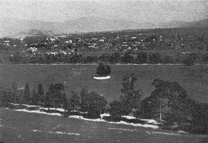 Gurumapa - Tinkhya (Tundikhel) open field in Kathmandu, ca 1939.