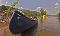 Tipping my canoe - GoPro Photos on the James (8342712459).jpg