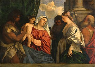 Madonna and Child with Saints John the Baptist, Paul, Mary Magdalene and Jerome