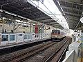 Tokyu 8639 at Mizonokuchi Station.jpg