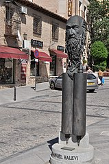 bust of Samuel ha Levi