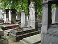 Tombe de Germain DELEBECQUE & Édouard DELEBECQUE & Frédéric DELEBECQUE - Cimetière Montmartre.JPG