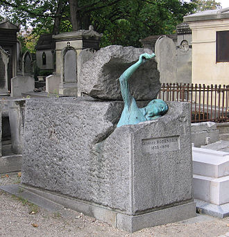 Georges Rodenbach - Rodenbach's tomb in Paris.