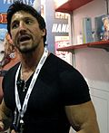 Tommy Gunn Chatting at the Adam & Eve Booth.jpg