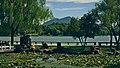 Tongguan mountain viewed from Tianjinghu scenery park.jpg