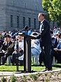 Tony Abbott speaking at the Canberra Operation Slipper Welcome Home Ceremony in March 2015.jpg