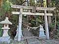 Torii gate of Takakura-jinja shrine in Haramachi ward 02.JPG