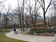 Il Parco del Valentino con il Borgo medioevale