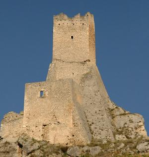 Pescina - Tower Piccolomini