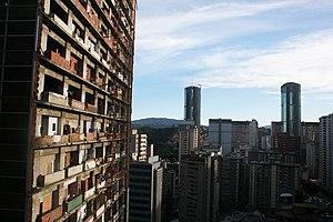 Centro Financiero Confinanzas - Exterior of Centro Financiero Confinanzas (Torre de David) in December 2013.