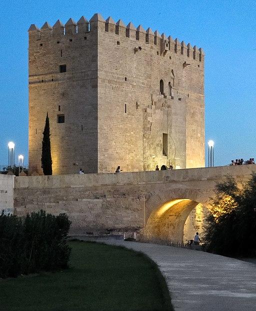 Torre de la Calahorra al anochecer