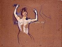 Toulouse-Lautrec - BALLET DE PAPA CHRYSANTHEME, 1892, MTL.145.jpg