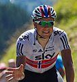 Tour de France 2012, boasson hagen verwelkomt zijn drinkbus (14867423774).jpg