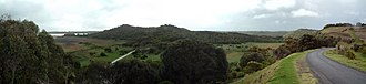 Tower Hill (volcano) - Image: Tower Hill volcano panorama