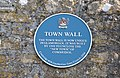 Town Wall plaque - Cowbridge - geograph.org.uk - 1262691.jpg