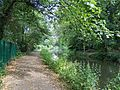 Towpath on the Chesterfield Canal from the cemetery gate - panoramio.jpg