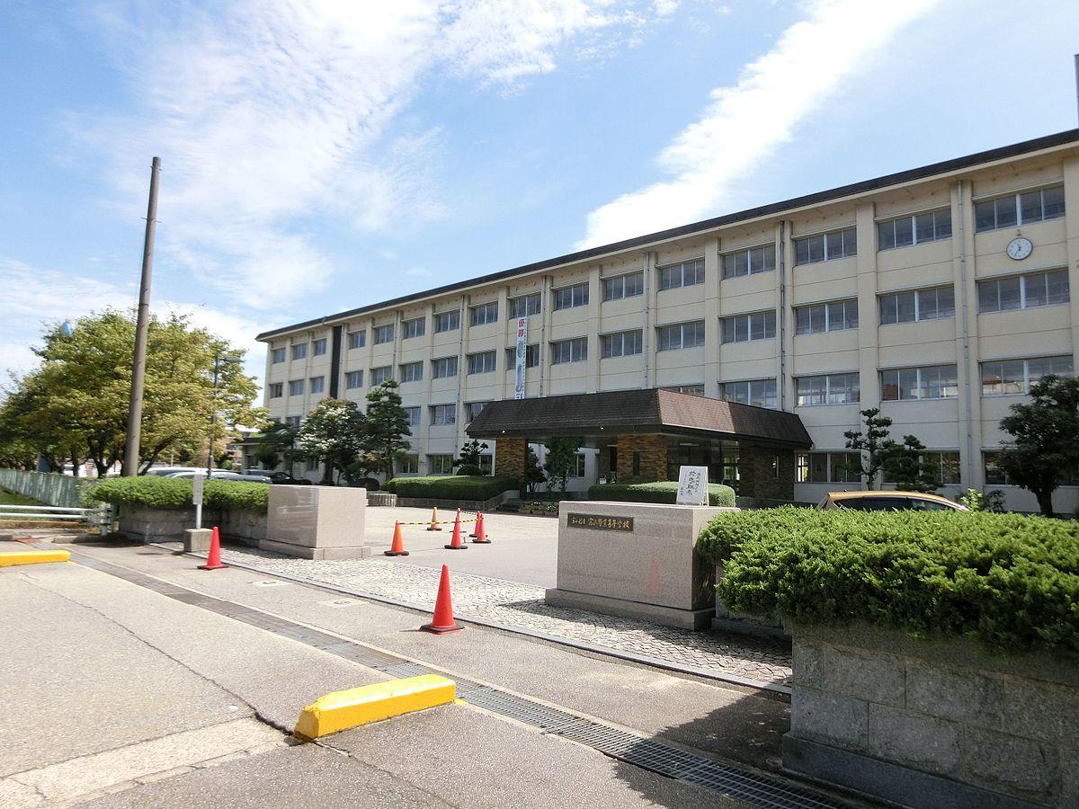 富山商業高等学校画像