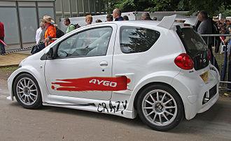 Toyota Aygo - Toyota Aygo Crazy rear