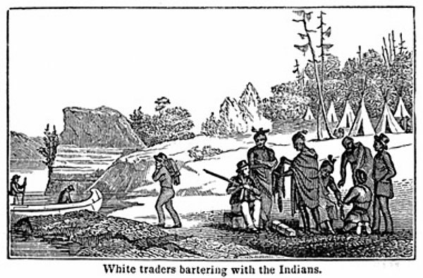 Trade with indians 1820