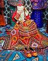 Traditional dressed turkmen bride.jpg