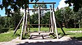 Traditional wooden swing in Viljandi, Estonia.jpg